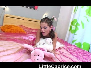 18yo little caprice shows her small perky tits | 18 years oldtits