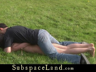 Harnessed to a cart teen slave carries her Master | masterslaveteen