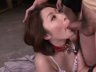 Mature asian blows three studs in a foursome on her knees   4someasianmaturestudents