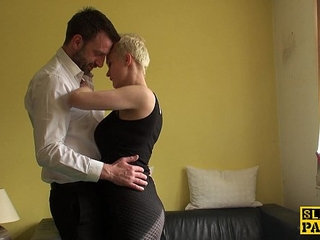 Squirting uk sub assfucked roughly by maledom | squirt