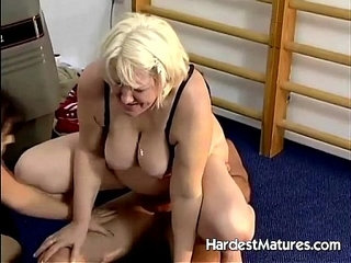 Fat granny joins bisexual couple   bisexualcouplefat
