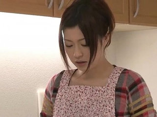 Riko has a dildo dream in her kitchen and uses her toys to cum | cumdildodreamskitchentoys