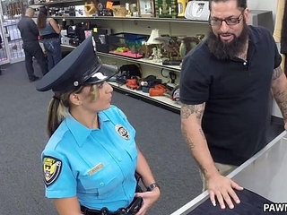 Fucking Ms Police Officer XXX Pawn   officershop