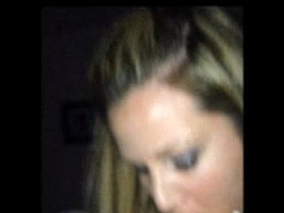 Hot wife takes a mouthful of cum while filmed on an iphone | cumwife