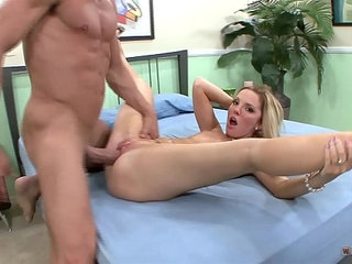 Pierced blonde fucked hard with cock on casting | big cockblondecastingpiercingstudents