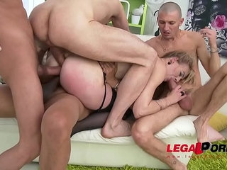 Anal milf slut Jentina Small gets her first triple penetration double pussy | analdoublemilfpenetrationpussysluts