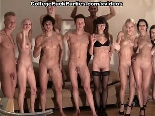 strip ended with an orgy at the party | orgypartystriptease
